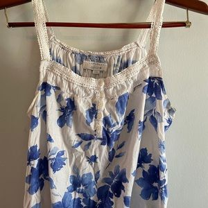 Aerie lace strap tank top